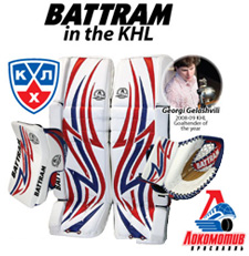 Battram in the KHL